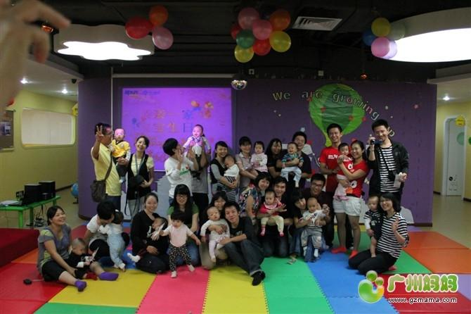 廣州周歲生日會合照