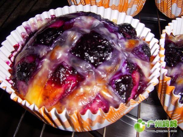 蓝莓芝士面包