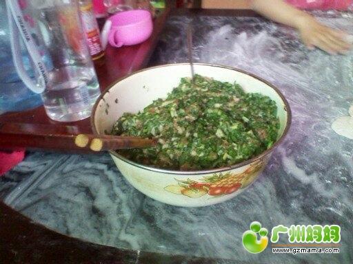 韭菜瘦肉馅的
