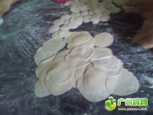 做好的饺子皮