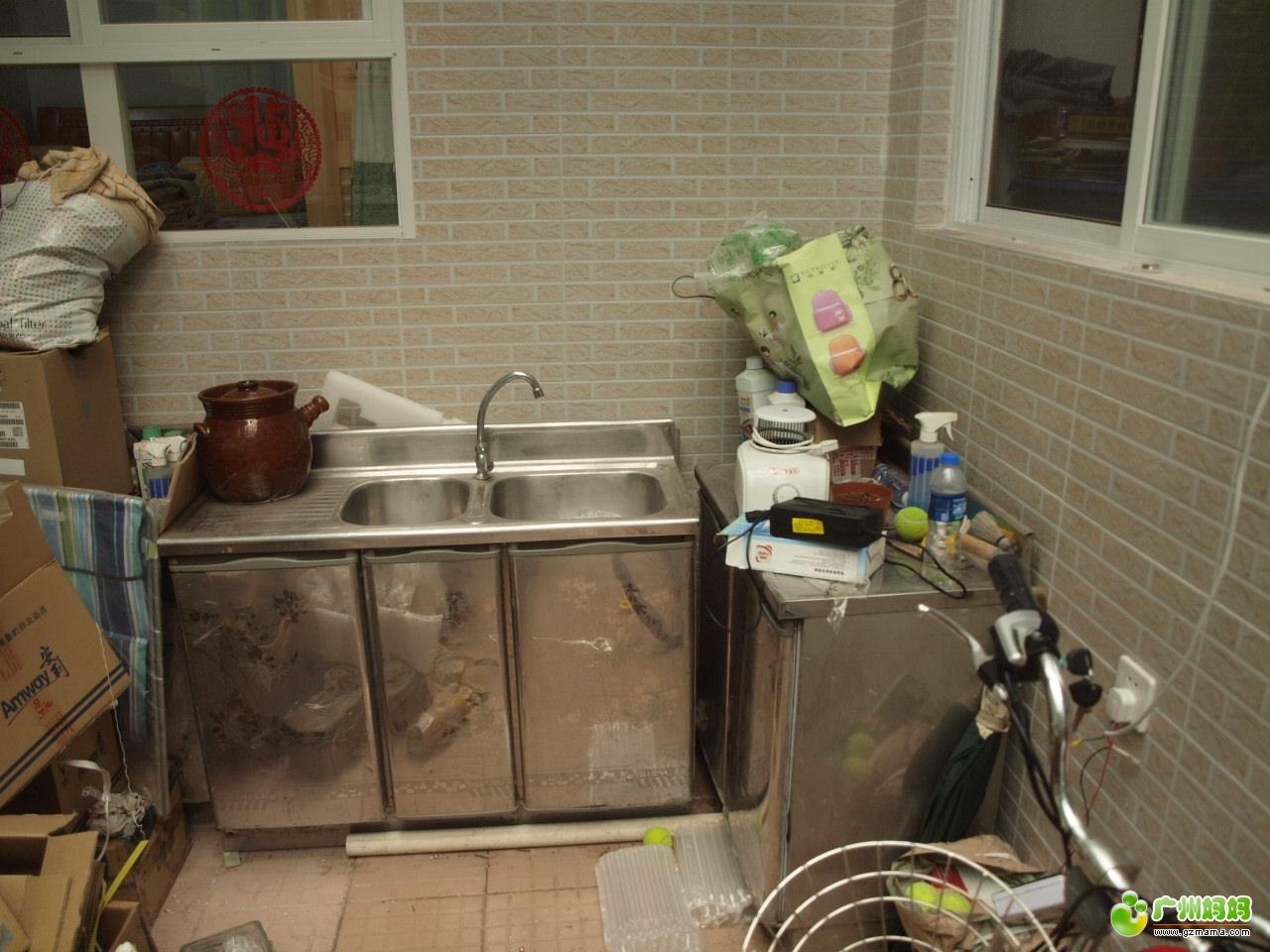 旧房翻新-厨房变大了,好用