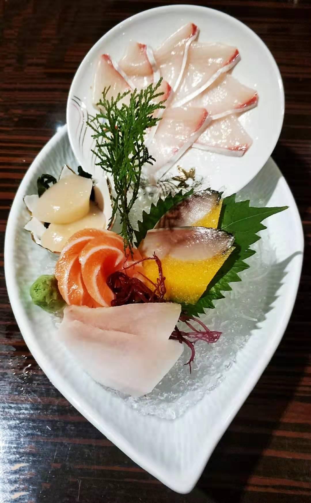 200+日料套餐,带子三文鱼刺身好新鲜