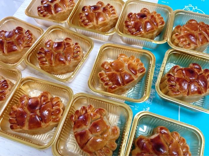 自制月饼大礼盒!DIY爆款螃蟹月饼