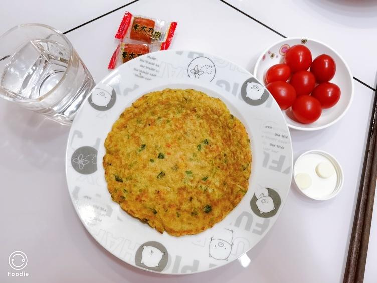快手早餐蔬菜饼!营养满分又好吃