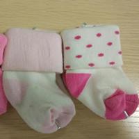 新生兒純棉襪子 溫暖寶寶小腳丫(3雙)