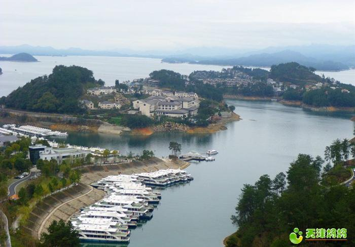 千島湖俯瞰景觀